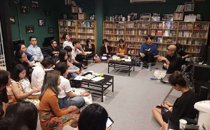 Filmmaking class in Hanoi