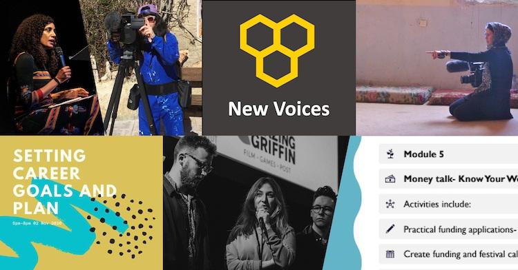 New Voices montage